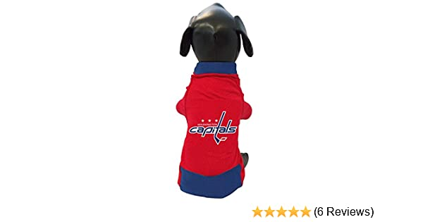 outlet store fc29a 9eb58 All Star Dogs NHL Unisex NHL Washington Capitals Athletic Mesh Dog Jersey