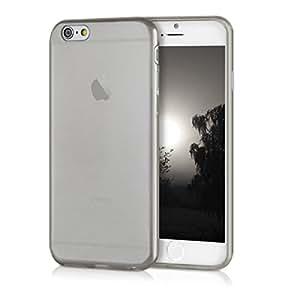 kwmobile Flexible super-slim case for Apple iPhone 6 / 6S in black transparent
