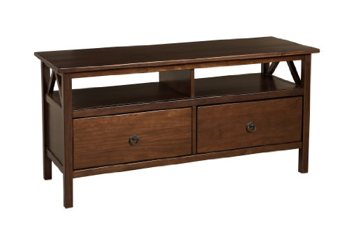 Linon Home Decor Titian TV Stand (Wood Traditional Drawer)