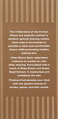 The Art of Shaving After-Shave Balm for Men - Face Moisturizer, Clinically Tested for Sensitive Skin, Oud, 3.3 Ounce