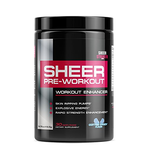Sheer Strength Labs Sheer Pre Workout Supplement - Cotton Ca