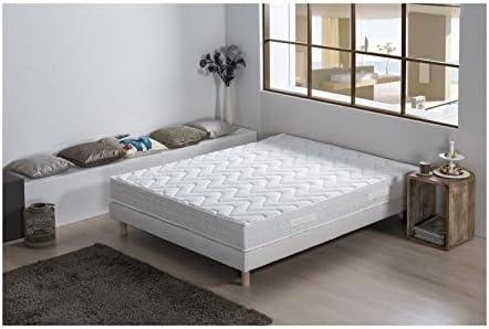 Capitolio conjunto colchón + somier 160 x 200 cm – Espuma HR ...