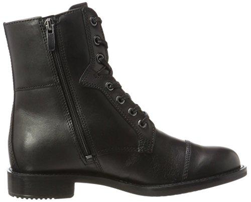 25 Black ECCO Boots Shape Combat Women's qwCxaB1