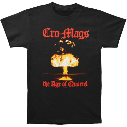 Cro-Mags Punk Rock Thrash Band The Age of Quarrel Adult T-Shirt Tee