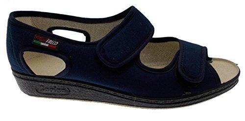 Large Cotone Di In 37 Gaviga Nero Allungata Pantofola Fisioterapia Extra Elasticizzato zqnaaC