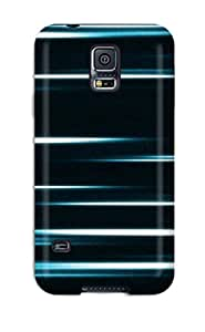 New Style Galaxy S5 Hybrid Tpu Case Cover Silicon Bumper Blue
