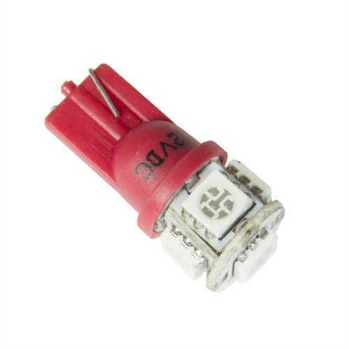 Auto Meter 3284 LED Bulb Kit; Replacement; For Speedometers/Tachometers/Gauges Exc. Autogage; Red;