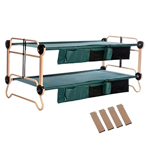 Disc-O-Bed X-Large with Organizers and Leg Extension