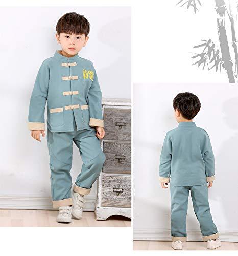 Autunnale Acvip Abbigliamento Da Lunghi Set Di Blu Chiaro Aggiunto Bambini  Peluche Pantaloni Camicia TdgrqWwd 233bb89335c