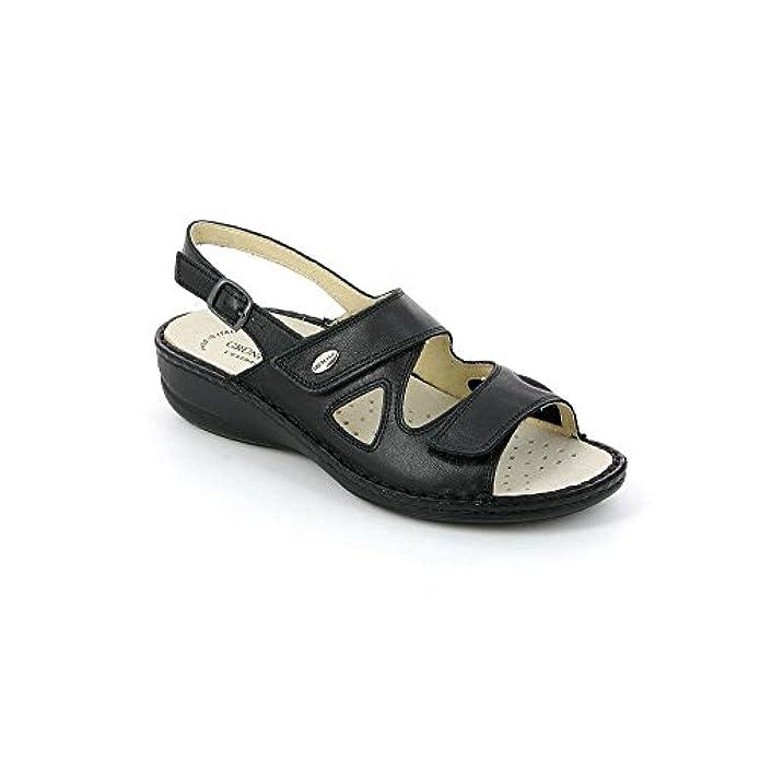 P Dara Sandalo Sandali Da Borse Se0034 Donna 39 Grunland Scarpe E Nero