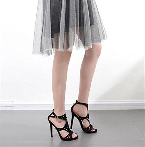 Stiletto Seksikäs Korkokengät Korkeakorkoinen Naisten Sandaalit Kengät Osapuoli Roman Klubi Juhla Kitzen wCz1qPxHnn