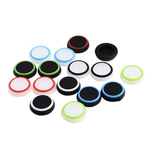 Kanzd Luminous Silicone Gel Thumb Grips Caps For Nintendo Switch Controller Replacement Controller