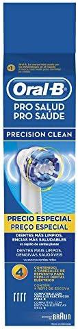 Refil Escova Elétrica Pro-Saúde Precision Clean 4 Unidades, Oral B, Oral B