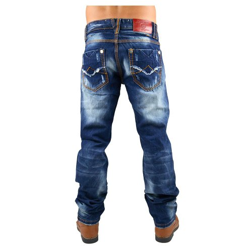 Jeans Straight Fit ID550 de Homme (jambe droite)