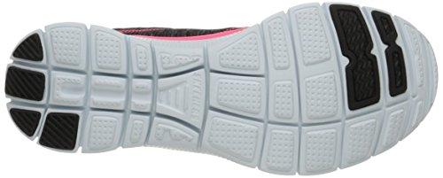 Hot Pink Skechers Flex Womens Appeal Fashion Black Sport Please Sneaker Pretty AvxUqTzA