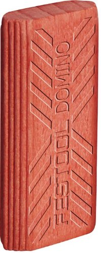 Festool 494863 Domino Tenon, Sipo Mahogany For Outdoor Use, 10 X 24 X 50mm, 225-Pack by Festool