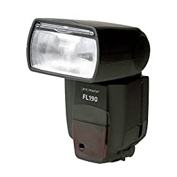 Promaster FL190 High Power TTL Flash - For Canon EOS