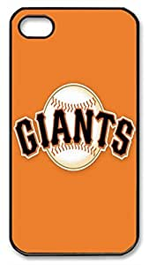 Baseball ¡§C San Francisco Giants Protective Hard Plastic Back Fits Cover Case for iphone 4 iphone 4s -1122028
