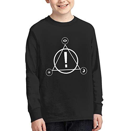 Panic at The Disco Logo Rock Band Logo Youth Long Sleeve T-Shirt XL Black