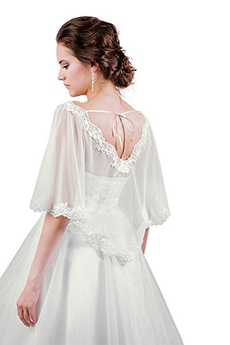 MGT-Shop - Torera - para mujer blanco beige XXX-Large