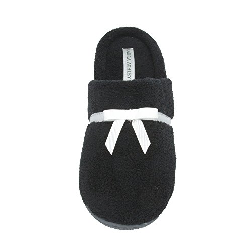 Ladies Laura Slippers Colors Slip Terry Sizes Soft More amp; On see Ashley Black FrSpq5SnU
