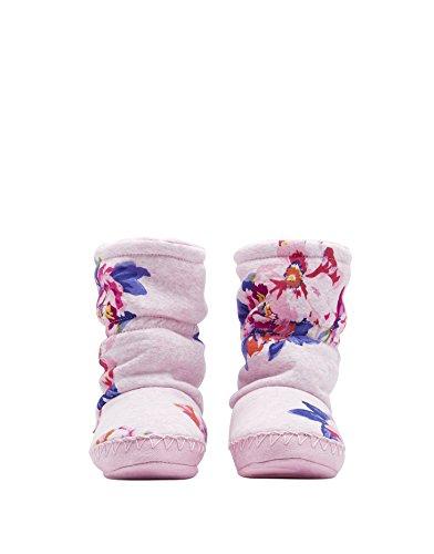 Slipper Girls Soft Granny Joules Jnrpadbtg Pink Boots Super Marl Floral Slippersock xXadTFdwq