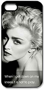 Madonna HD image case cover for iphone 5 black A Nice Present by ruishernameMaris's Diary