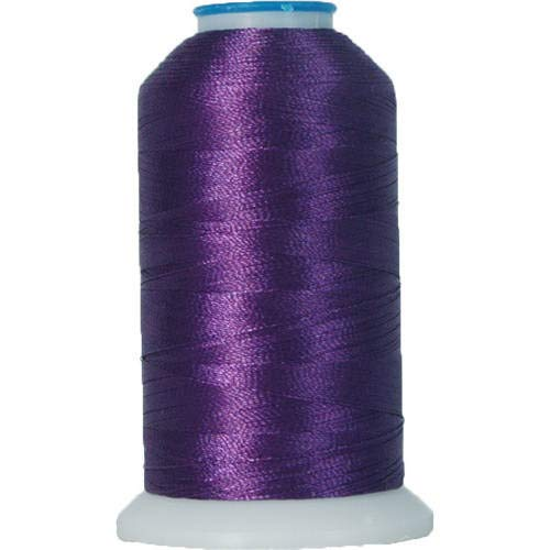 - Threadart Rayon Machine Embroidery Thread - No. 267 - Dark Purple - 1000M - 145 Colors