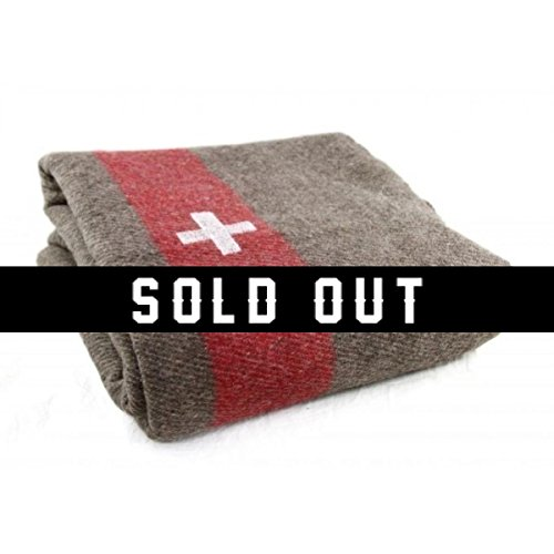 Swiss Army Blanket Heavyweight - Reproduction ()