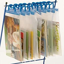 Copernicus School Classroom Office Store Audio Kits, Books, or Manipulatives Neatly By Introducing Hanging Bags to Your Classroom.