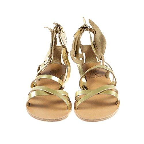 Ancient Greek Sandals Damen Sandalen Leder Gold