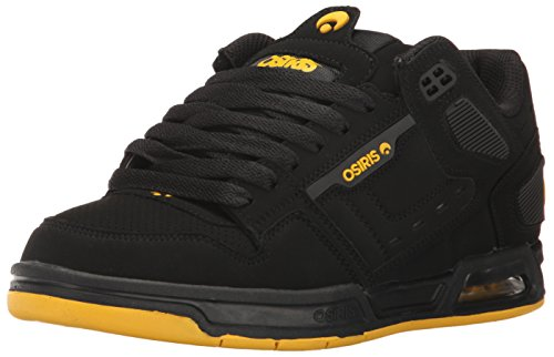 Zapatillas Osiris: Peril GR Negro/Amarillo/Negro