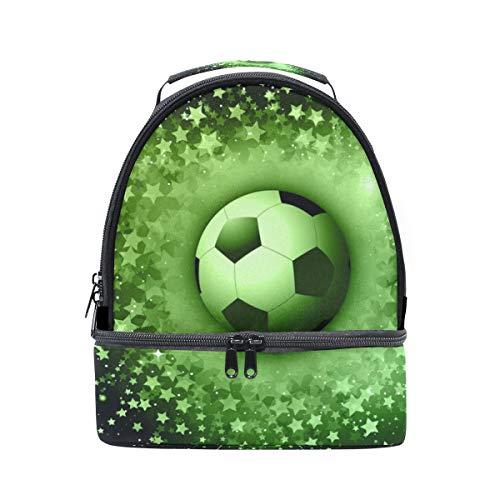 ajustable Alinlo de térmica el Bolsa correa diseño fútbol para de balón hombro con con rqp6qAwv