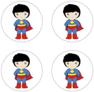 Amazon Com Superman Little Superheroe Inspired Comestible Toppers