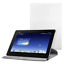 kwmobile Case 360° for Asus Memo Pad FHD 10 Case with stand - protective tablet cover with standing function in white