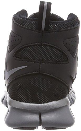 Nike Nike Free Run - Zapatillas de running de material sintético para niño negro negro - Schwarz (VLVT BRWN/VLVT BRWN-HYPR CRMSN 001)
