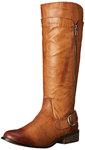 Coconuts by Matisse Women's Lonnie Engineer Boot Saddle 4dSgAeS0S