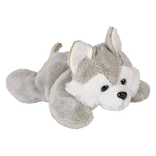 Wildlife Tree 3.5 Inch Wolf Husky Mini Small Stuffed Animals Bulk Bundle of Zoo Animal Toys or Forest Animal Party Favors for Kids Pack of 12 by Wildlife Tree (Image #2)