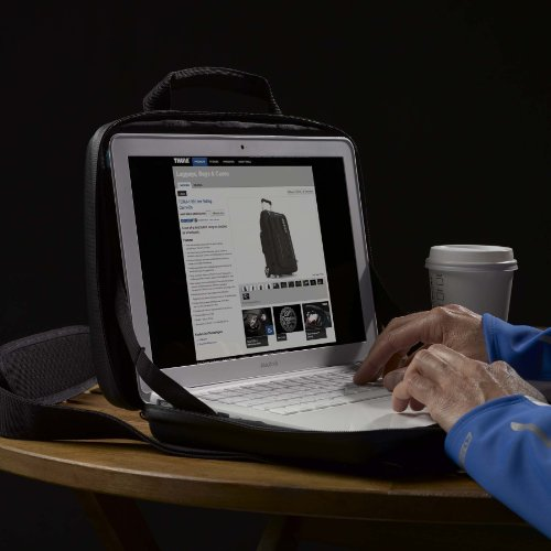 Thule Gauntlet TMPA-113 13 inch MacBook Pro and Retina Display Attache' (Black) by Thule (Image #8)