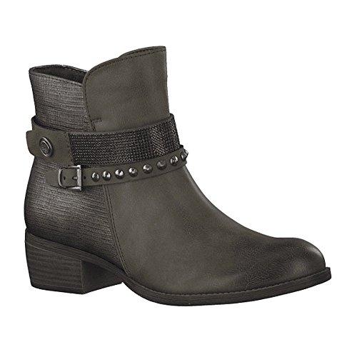 Marco Tozzi Women's 2-2-25306-31 728 Ankle Boots Green (Khaki A.c. 728) KBBArtQ3qx