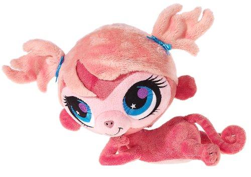Littlest Pet Shop Heunec 584471–Minka–Aufgedrehter Monkey Plush Soft ()