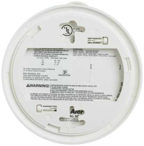 First Carbon Alarm Smoke Alarm