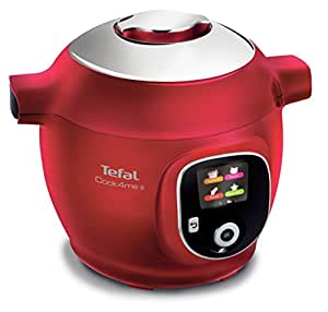 TEFAL CY8515 Cook4Me+ Red Electric Pressure Cooker, Red