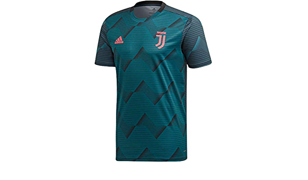 adidas Men's Juventus Pre-Match Quick-Dry Soccer Jersey