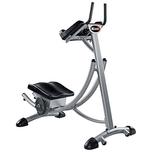 Abcoaster Max Deluxe with Weights- The Back & Neck Safe, Top Rated Abdominal Fitness Machine by Ab Coaster
