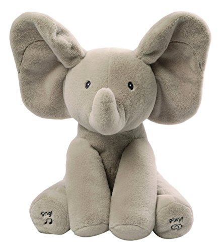 Gund Baby Animated Flappy The Elephant Plush Toy (Polyester Toy Plush)