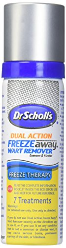 Dr. Scholl's Freeze Away Dual Action Wart Remover 7 Treatments