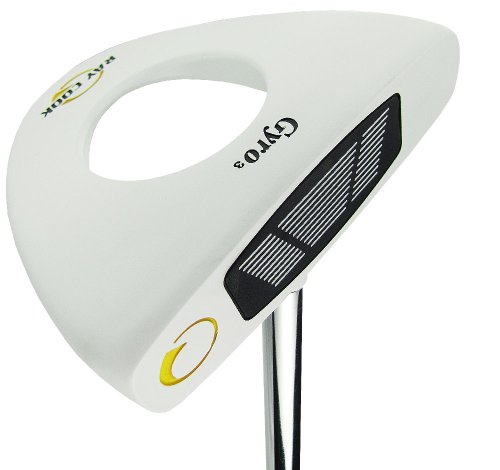 New Ray Cook Golf 2012 Gyro3 White Putter 34″, Outdoor Stuffs