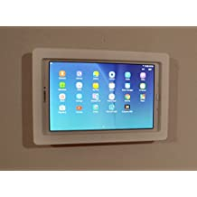 Samsung Galaxy TAB E 9.6 Security Anti-Theft Kit for Kiosk, POS, Store, Show Display (White Wall Mount)