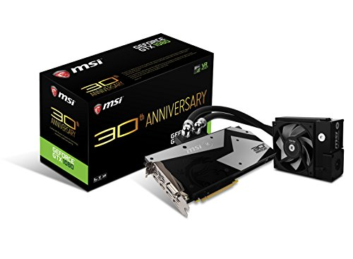 Photo - MSI GTX 1080 30th Anniversary Graphic Cards Black/Silver